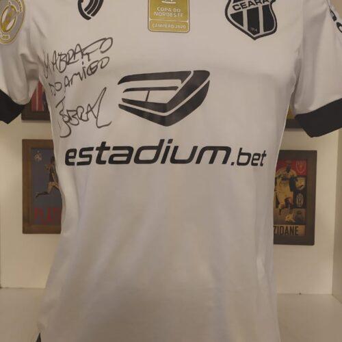 Camisa Ceará Vozão 2020 Fernando Sobral autografada
