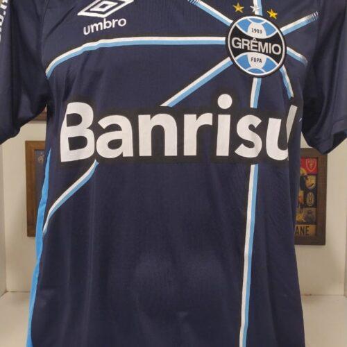 Camisa Grêmio Umbro 2016 Marcelo Grohe goleiro Grêmio Net autografada