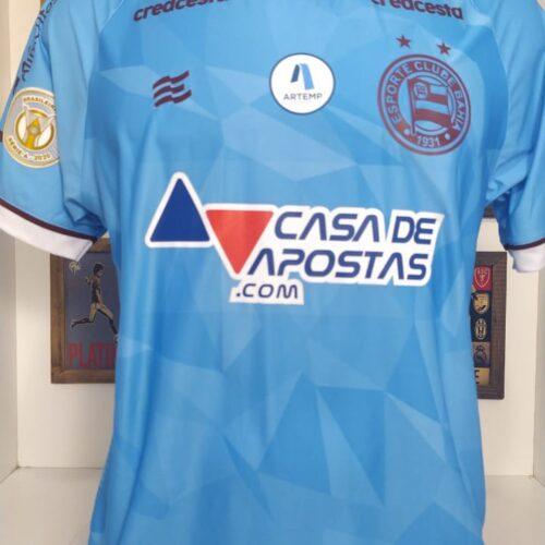 Camisa Bahia Esquadrão 2020 Anderson goleiro Brasileirão