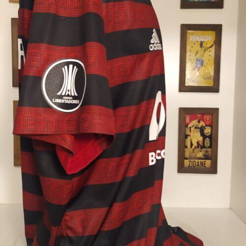 Camisa Flamengo Adidas 2019 De Arrascaeta Libertadores da América