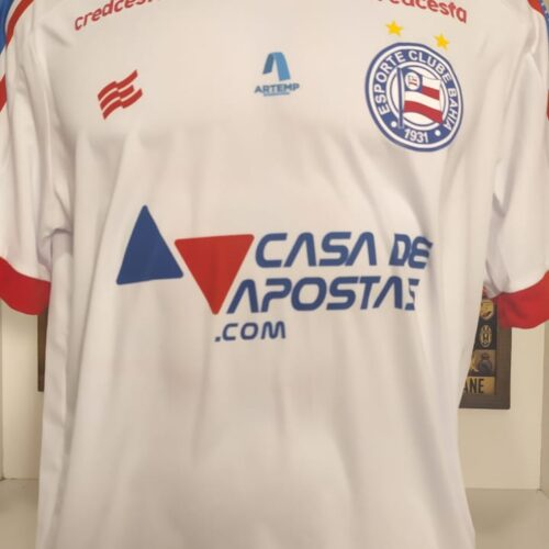 Camisa Bahia Esquadrão 2020 Saldanha Brasileirão