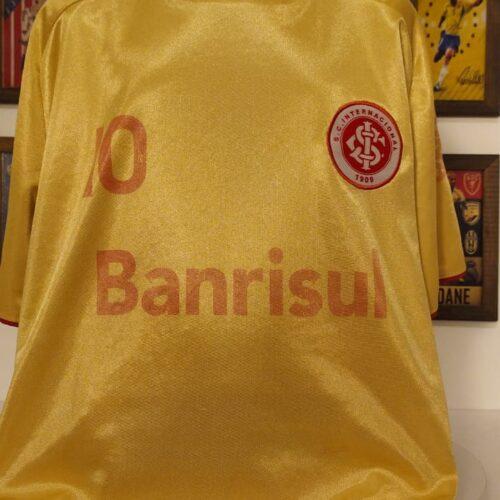 Camisa Internacional Reebok 2009 centenário infantil
