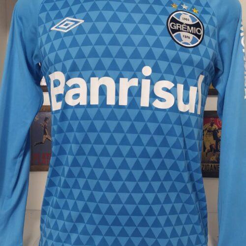 Camisa Grêmio Umbro 2015 treino mangas longas