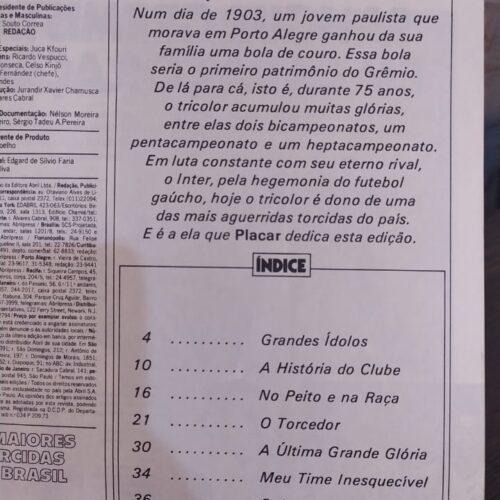Revista Grêmio As maiores torcidas do Brasil