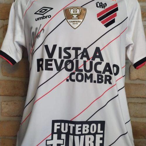 Camisa Athletico Paranaense Umbro 2020 Walter autografada Brasileirão