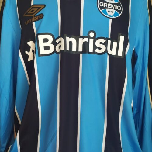 Camisa Grêmio Umbro 2019 mangas longas