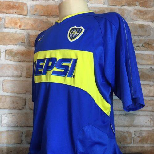Camisa Boca Juniors Nike 2003 Tevez