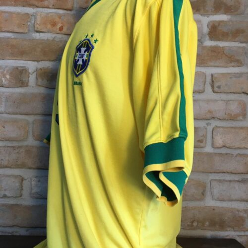 Camisa Brasil Nike 1997 Ronaldo Fenômeno