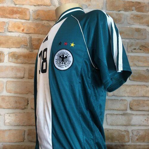 Camisa Alemanha Adidas 1998 Klinsmann