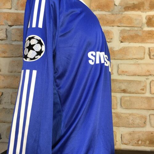 Camisa Chelsea Adidas 2008 Deco Champions League mangas longas