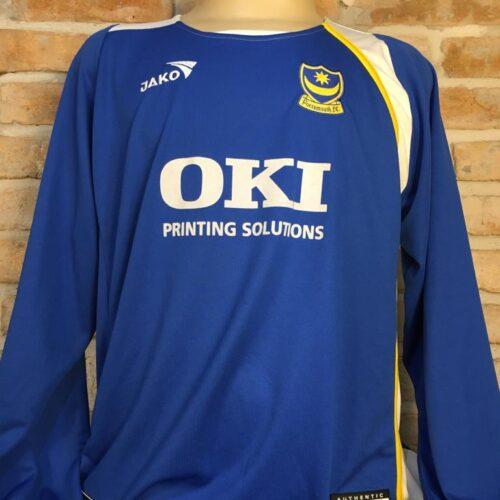 Camisa Portsmouth 2005 Jako Dalessandro mangas longas