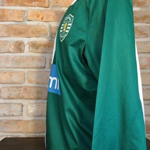 Camisa Sporting Puma 2008 Pedro Silva mangas longas