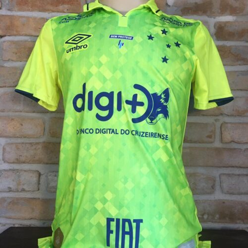 Camisa Cruzeiro Adidas 2019 Sassá terceiro uniforme