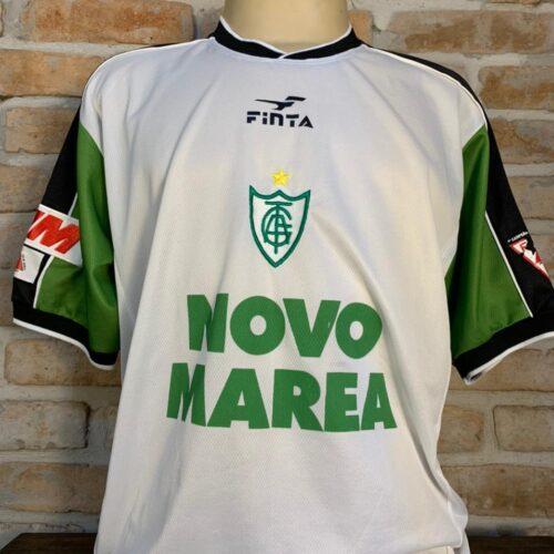Camisa América Mineiro Finta 2001 Brasileirão