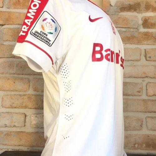 Camisa Internacional Nike 2014 Nico Freitas autografada Libertadores da América