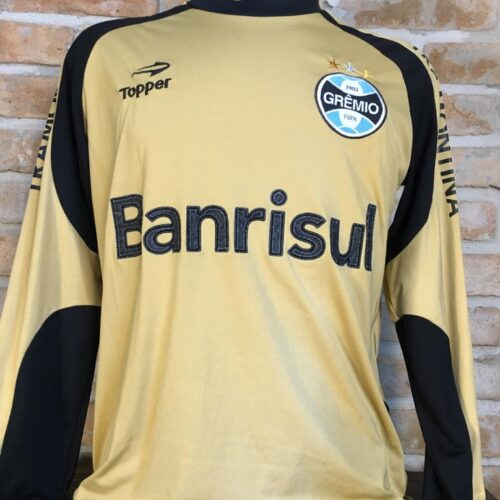 Camisa Grêmio Topper goleiro mangas longas