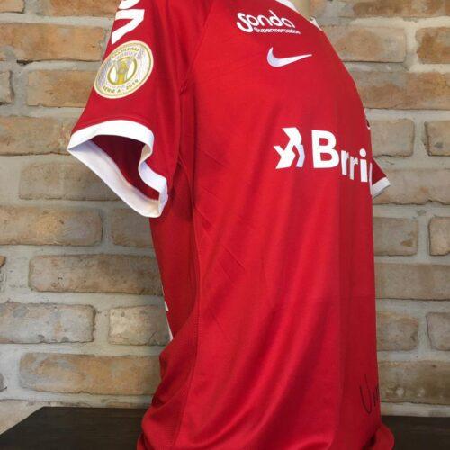 Camisa Internacional Nike 2019 Klaus autografada Brasileirão