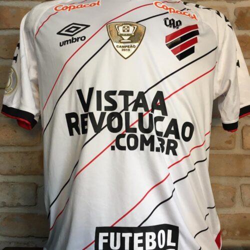 Camisa Athletico Paranaense Umbro 2020 Leo Gomes Brasileirão