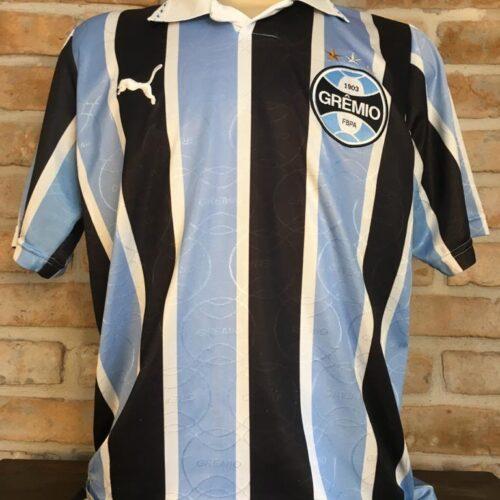 Camisa Grêmio Puma 1995 Jardel comemorativa Libertadores da América