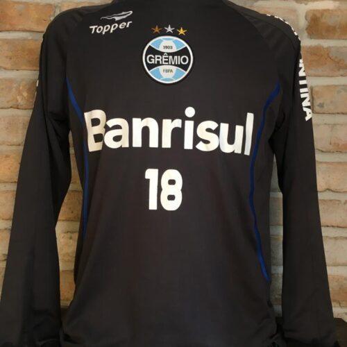 Camisa Grêmio Topper treino mangas longas