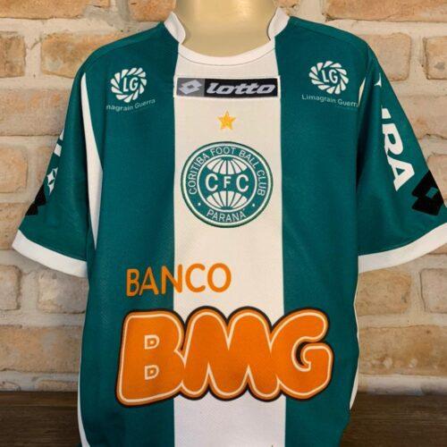 Camisa Coritiba Lotto 2011 infantil