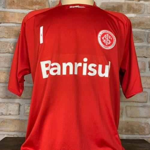 Camisa Internacional Reebok 2009 Lauro centenário goleiro