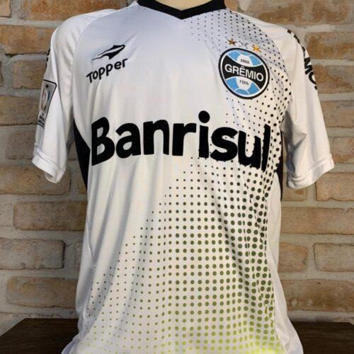 Camisa Grêmio Topper 2014 Marcelo Grohe goleiro Libertadores da América autografada