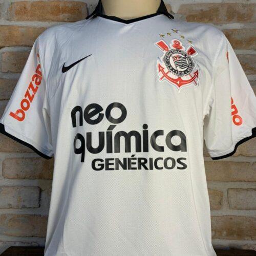 Camisa Corinthians Nike 2011 Emerson Sheik