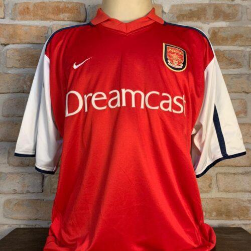 Camisa Arsenal Nike 2000