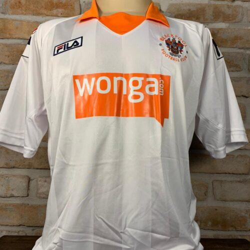Camisa Blackpool Fila 2012