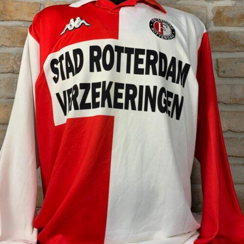 Camisa Feyenoord Kappa 2000 mangas longas