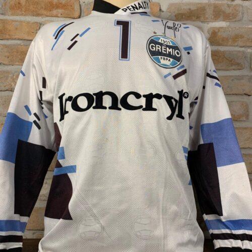 Camisa Grêmio Penalty 1997 Danrlei mangas longas
