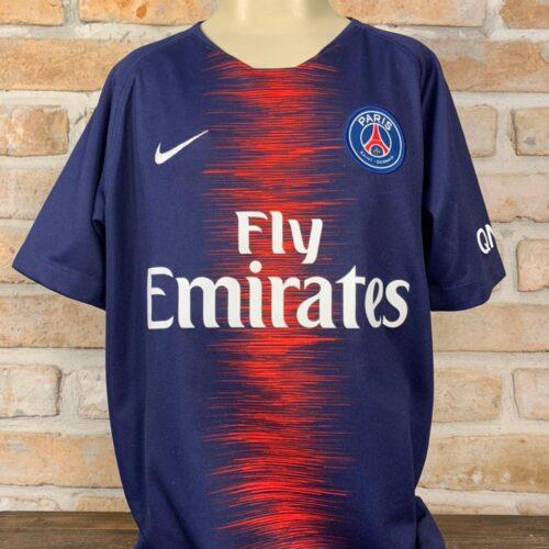Camisa Paris Saint-Germain Nike 2018 Infantil