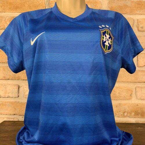 Camisa Brasil Nike 2014 feminina