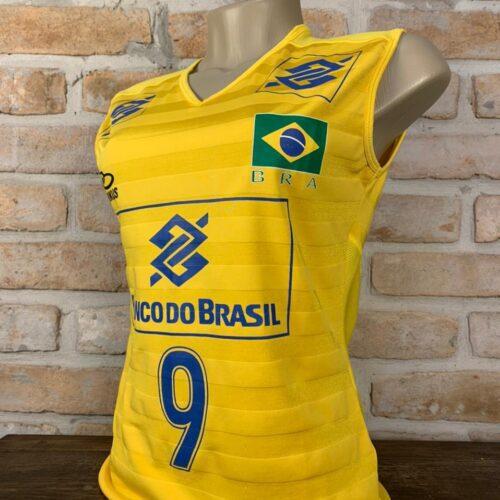 Camisa Brasil Olympikus vôlei feminino