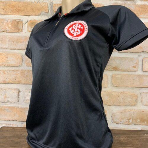 Camisa Internacional feminina polo preto