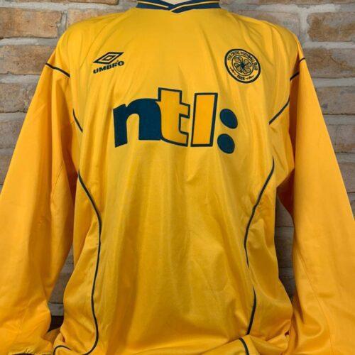 Camisa Celtic Umbro 2000 mangas longas