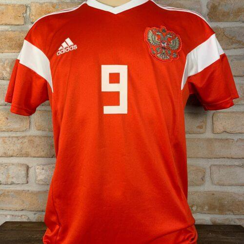 Camisa Rússia Adidas 2018 Kokorin
