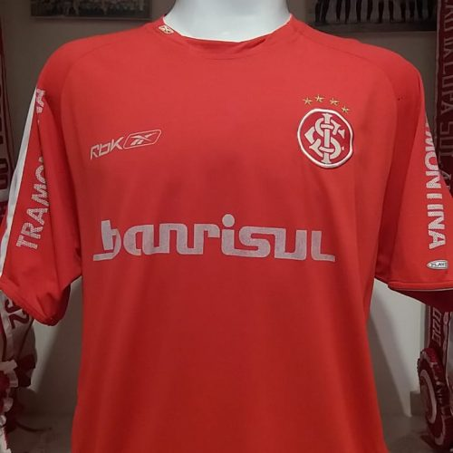 Camisa Internacional Reebok 2006 Bolivar autografada