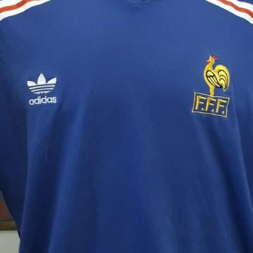 Camisa Adidas França retro