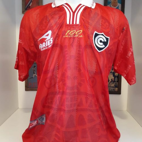 Camisa Cienciano Aries 2001
