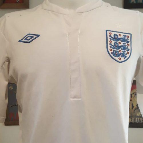 Camisa Inglaterra Umbro retro branca