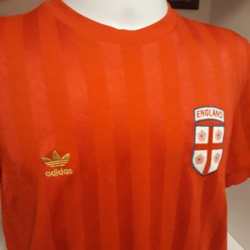 Camisa Inglaterra Adidas retro vermelha