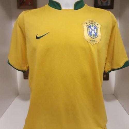 Camisa Brasil 2006 amarela