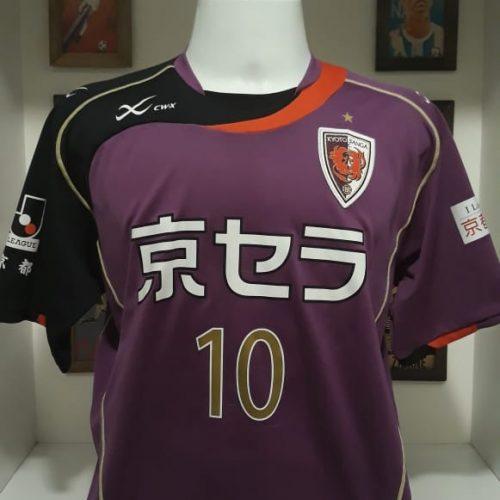Camisa Kyoto Sanga X 2010 Diego Gama