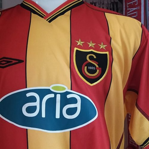 Camisa Galatasaray Umbro 2002 Fábio Pinto