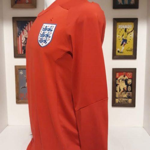 Camisa Inglaterra Umbro retro 1966 mangas longas