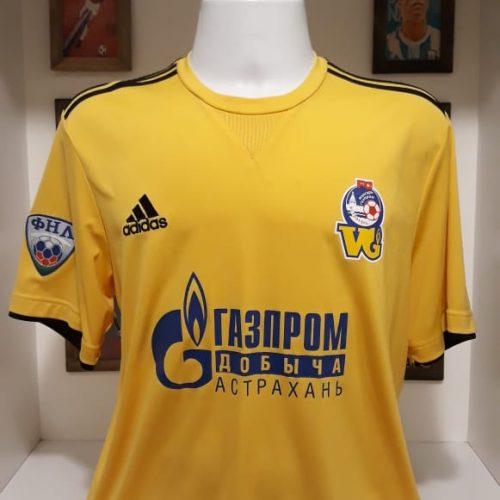 Camisa Volgar-Gazprom Astrakhan Adidas 2012