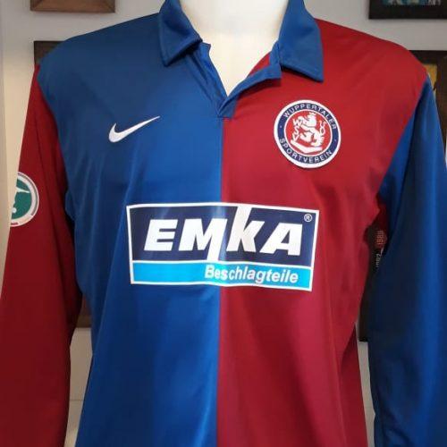 Camisa Wuppertaler SV Nike 2008 Nils Fischer