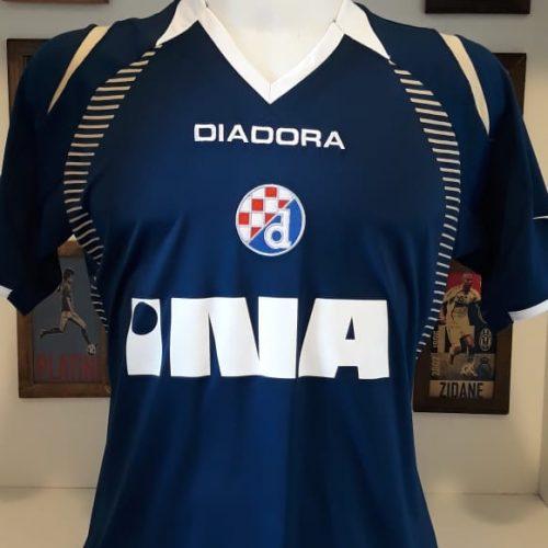 Camisa Dinamo Zagreb Diadora 2007 Franck Guela